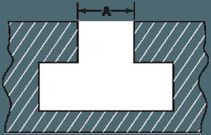 Quick Die Change QDC T-Slot Diagram