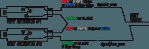 Hydraulic Locking Cylinder sensor KOR-LOK wiring XLT relay sensor multiple cylinders in series