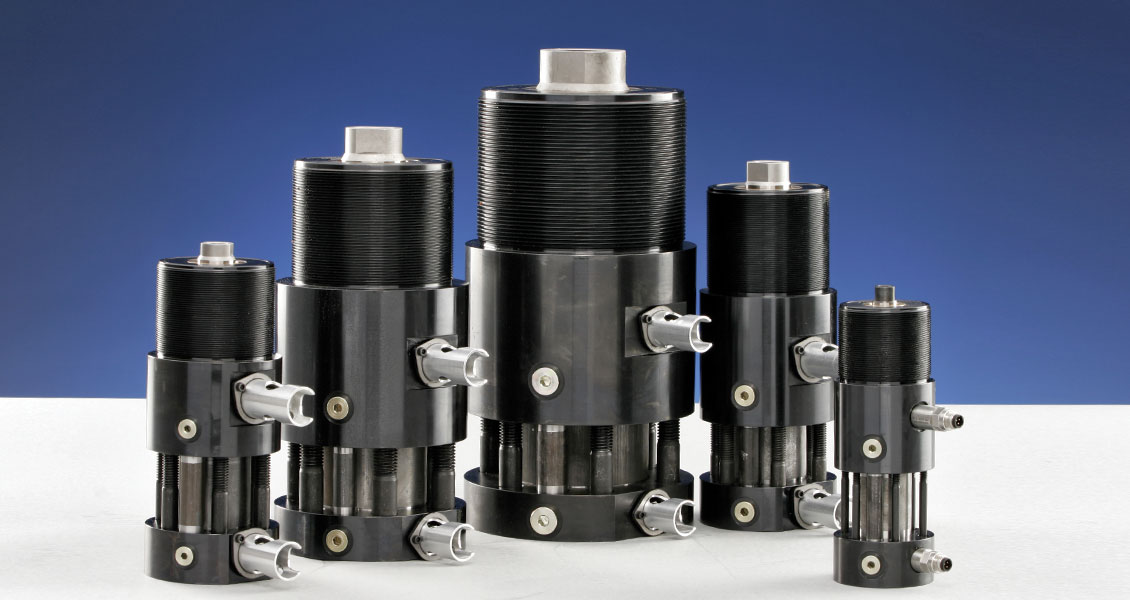 KOR-LOK Side-Action Systems - Hydraulic Locking Cylinder Core Pull System Sizes