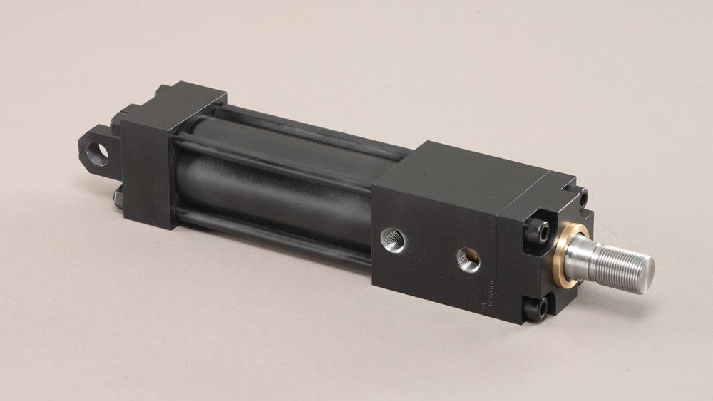 PFA lock-on-extend locking cylinder HYS PVS