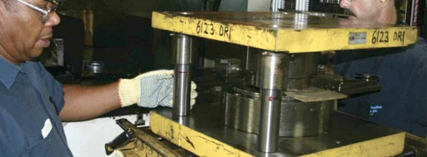 SMED Press Upgrades PFA QDC Quick Die Change