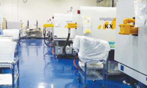 Star Die Molding has a cleanroom to accommodate its medical business