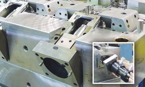Hydraulic Core Pull Cylinder preload KOR-LOK Medical