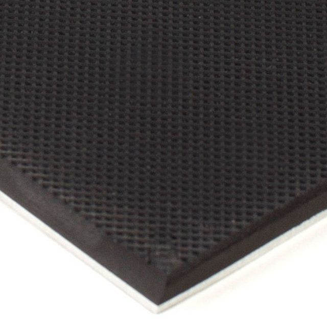 Knurled Rubber on Aluminum 6x12 Gripper Pads
