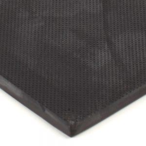 "6"" x 12"" PFA Gripper Pad: Knurled Rubber Pad (Elastomer Only)"