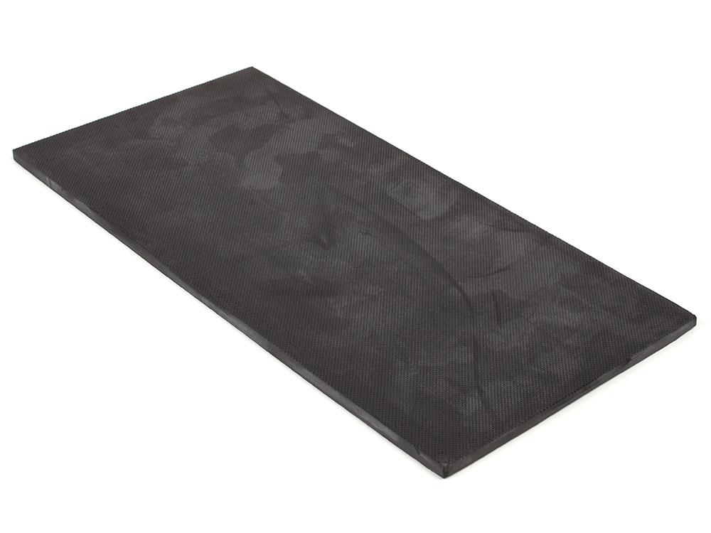 "6"" x 12"" PFA Nitrile Rubber (NBR  Buna-N)  Gripper Pad Knurled  (Elastomer Only – 1/4″ thick)"
