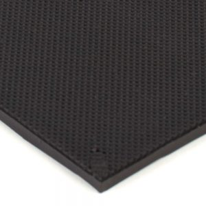 "6"" x 12"" PFA Gripper Pad: Knurled Rubber Pad (Elastomer Only – 1/8″ thick)"