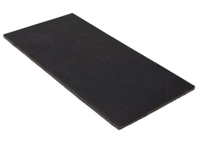 "6"" x 12"" PFA Nitrile Rubber (NBR Buna-N) Gripper Pad Pebbled (Elastomer Only 1/4″ thick)"