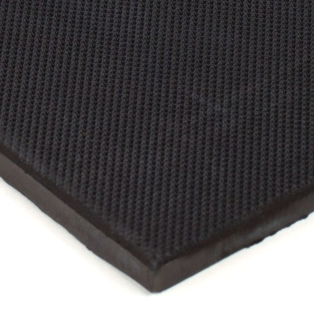 "6"" x 12"" PFA Gripper Pad: Pebbled Rubber Pad (Elastomer Only 1/4"" thick)"
