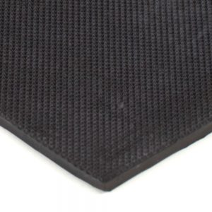 """6"""" x 12"""" PFA Gripper Pad: Pebbled Rubber Pad (Elastomer Only - 1/8″ thick)"""