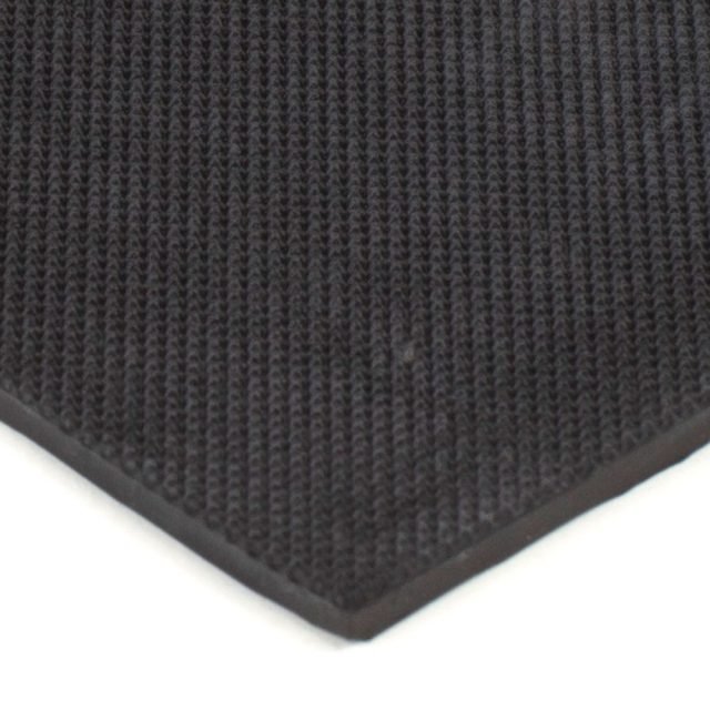 "6"" x 12"" PFA Gripper Pad: Pebbled Rubber Pad (Elastomer Only - 1/8"" thick)"