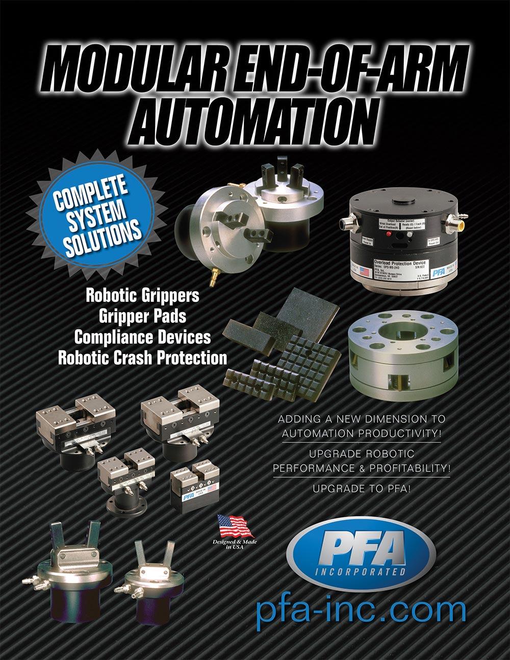 PFA Automation Catalog