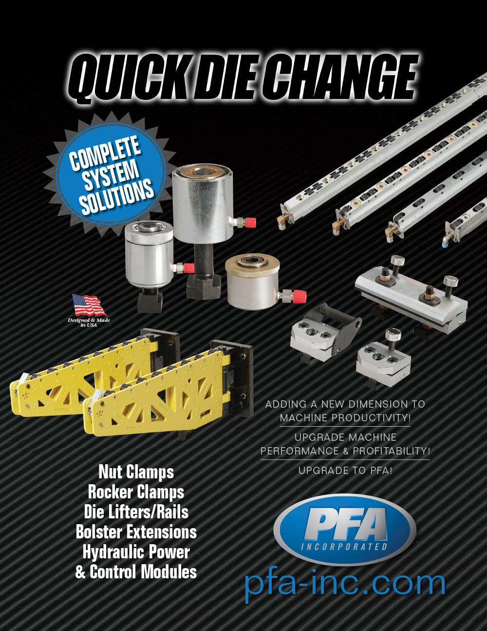 Quick Die Change Catalog