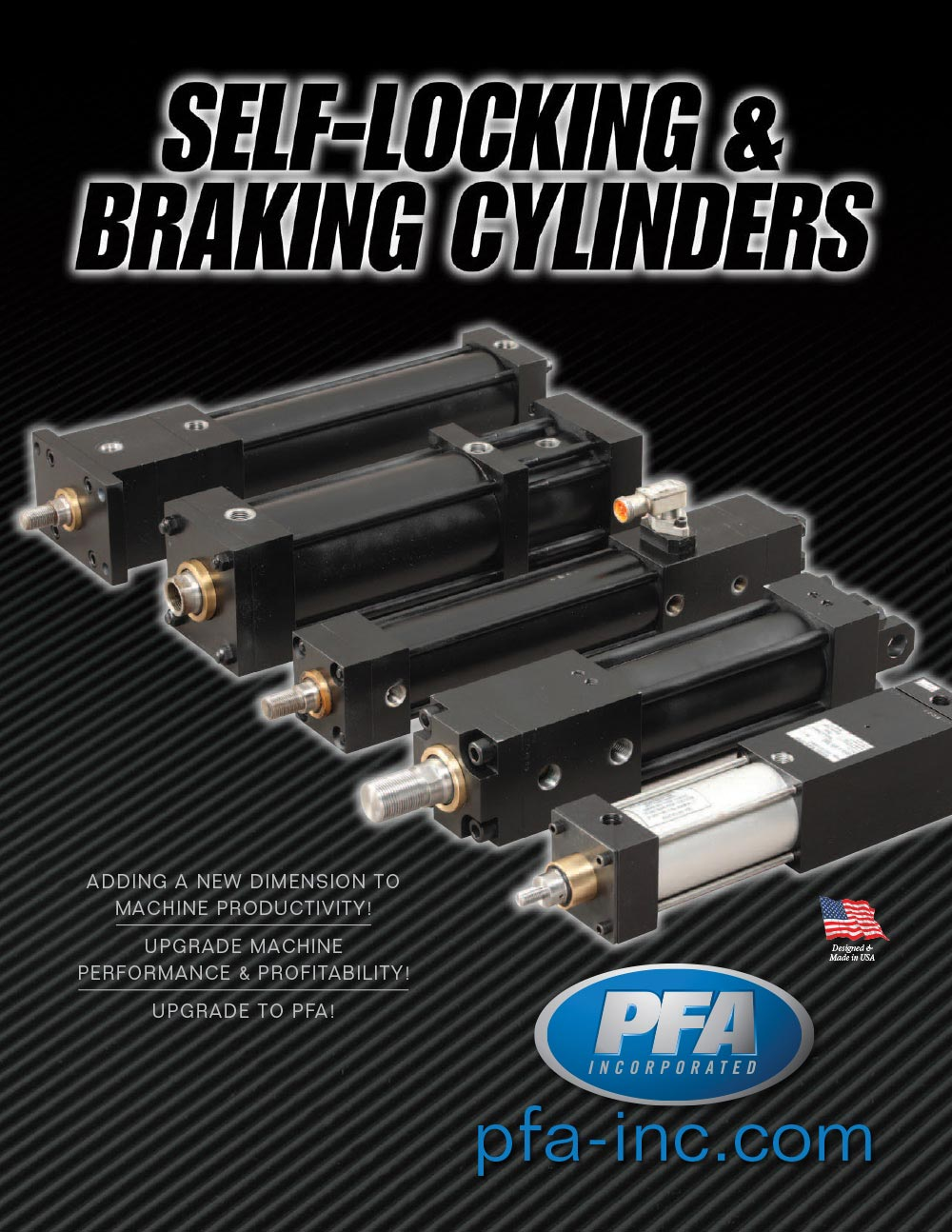 Self Locking and Braking Cylinder Catalog