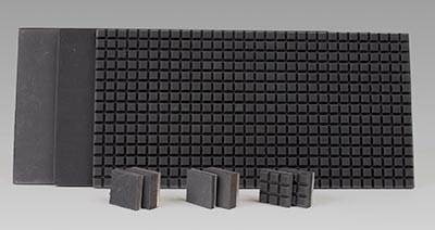 Industrial Rubber Pads with Metal Backing