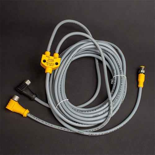 SM-KLS-2A KL splitter cable with straight end (at RJB)