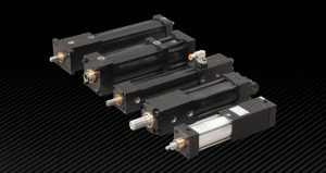 Locking Cylinder High Force Holding PFA - Better than braking cylinders and rod clamping systems